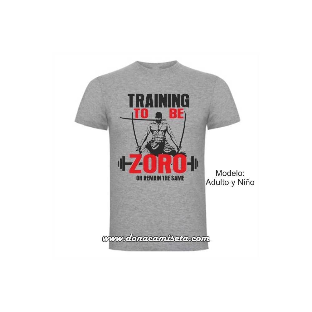 Camiseta Training to be Zoro