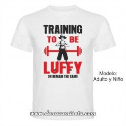 Camiseta Training to be Luffy
