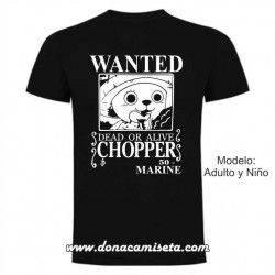 Camiseta Wanted Chopper