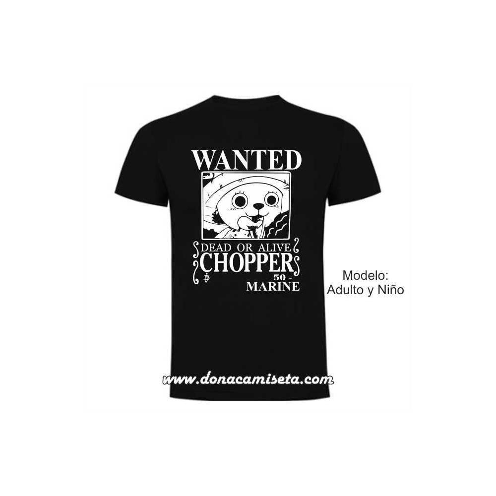 Camiseta Wanted Chopper