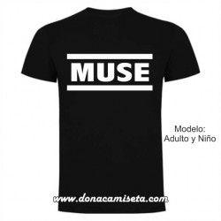 Camiseta Muse logo