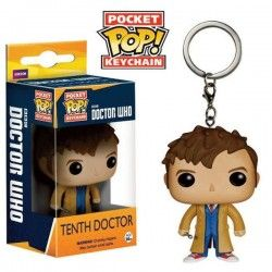 LLavero Funko Pop Doctor Who 10th