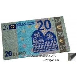 Felpudo Billete 20 euros