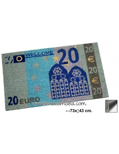 Felpudo Billete 20 euros