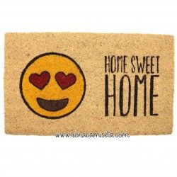Felpudo Emoticono Home Sweet Home