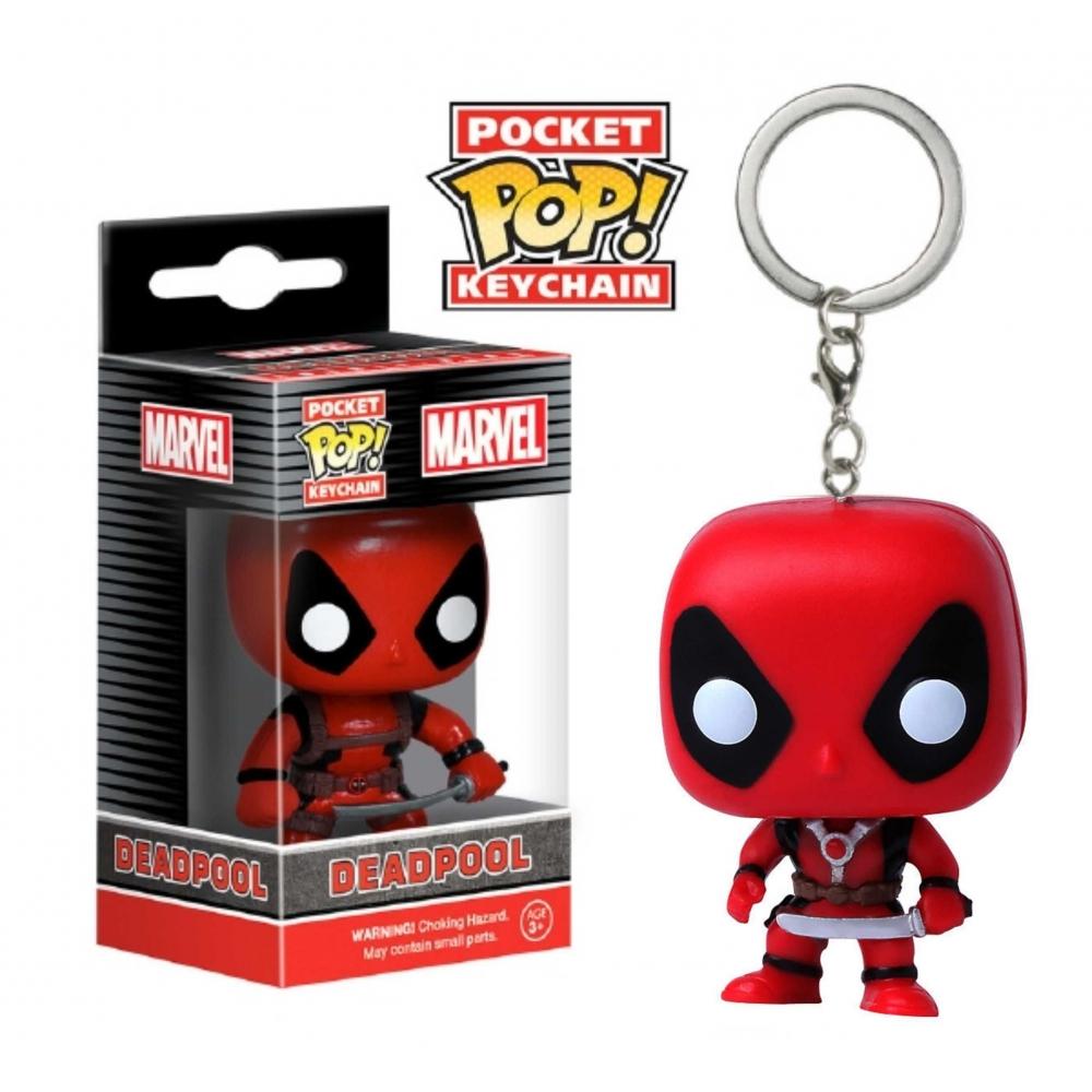 LLavero Funko Pop Deadpool
