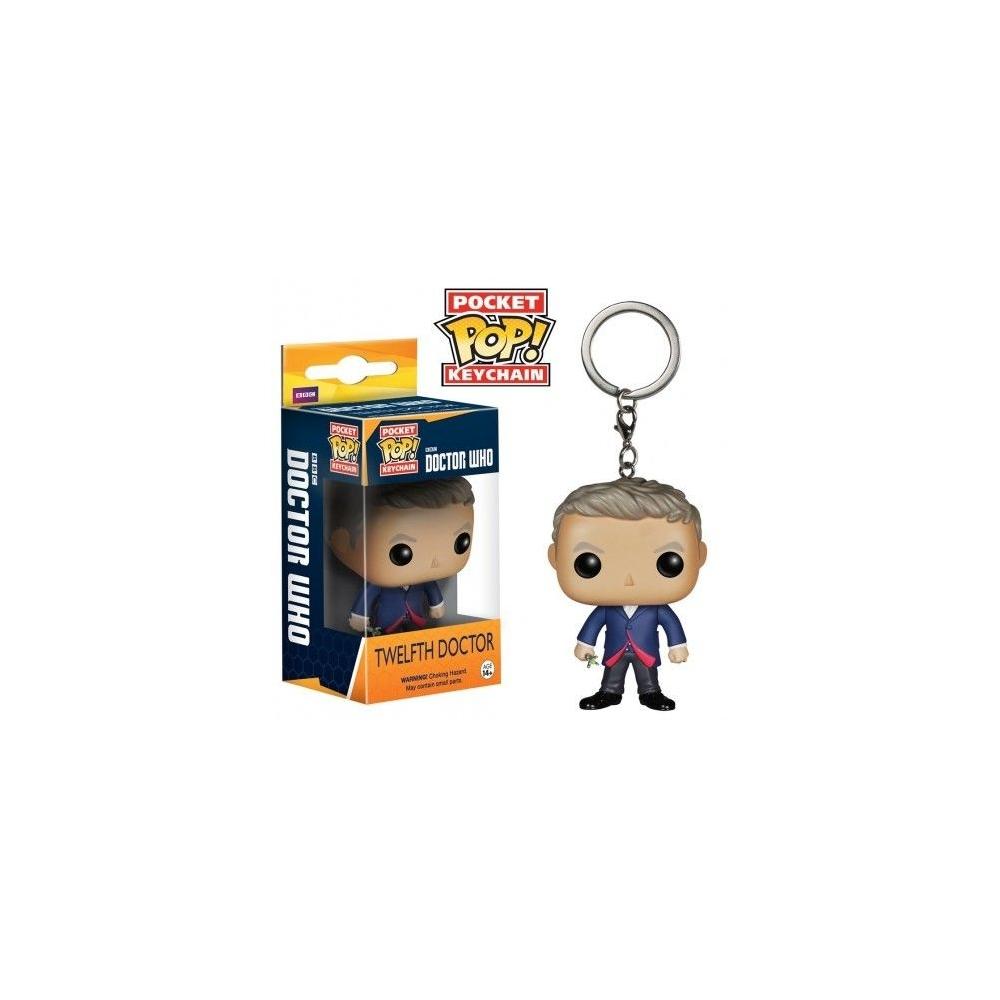 LLavero Funko Pop Doctor Who 12th