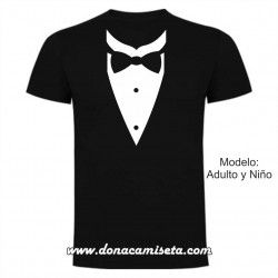 Camiseta Smoking camisa