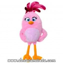 Peluche Angry Birds Rosa 36cm