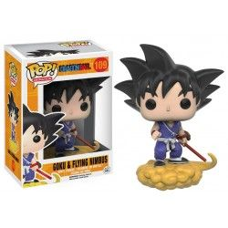 Figura Funko Pop Dragon Ball Goku & Flying Nimbus