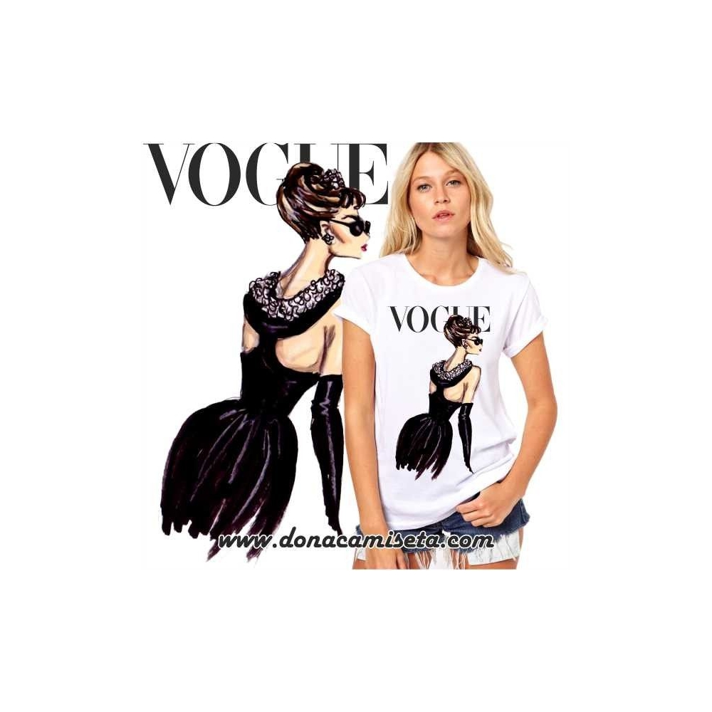 Camiseta Audrey espalda Vogue