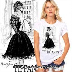 Camiseta Audrey Tiffany´s