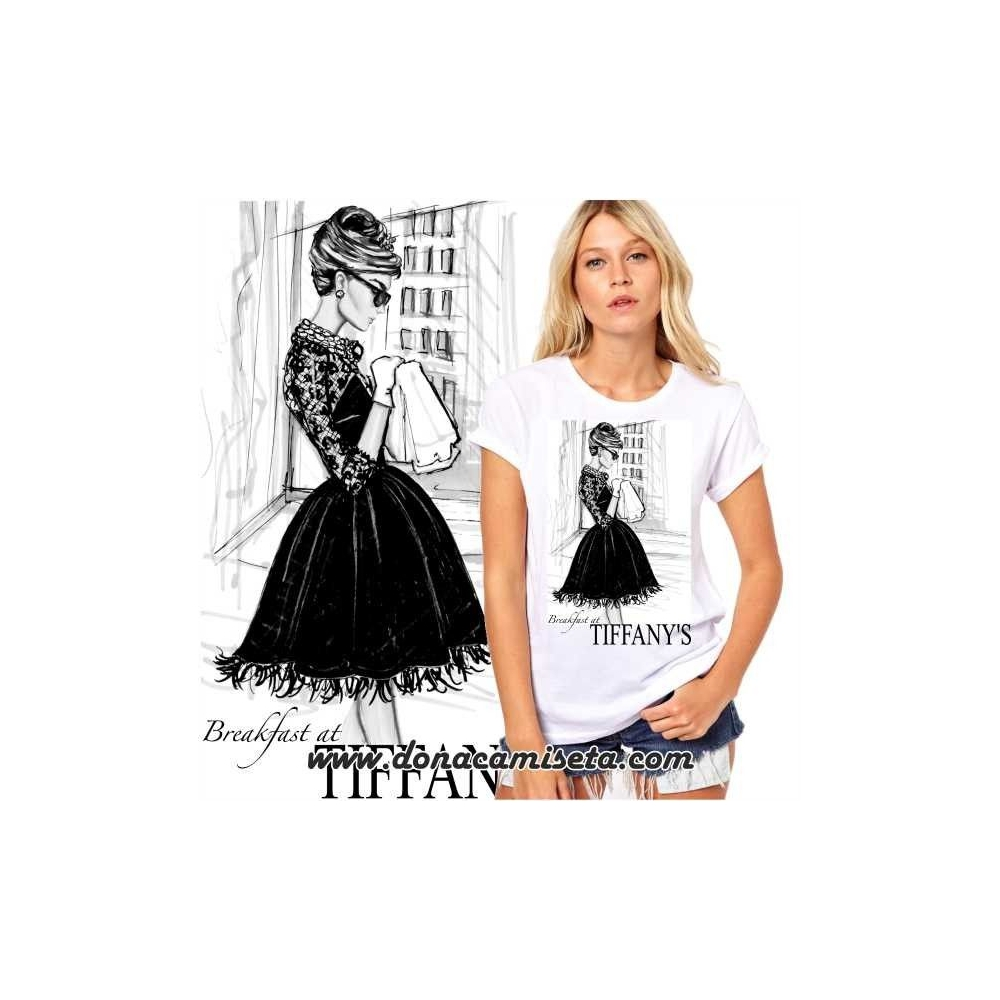Camiseta Audrey Tiffany´s