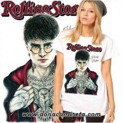 Camiseta Harry tatoo Rolling Stone