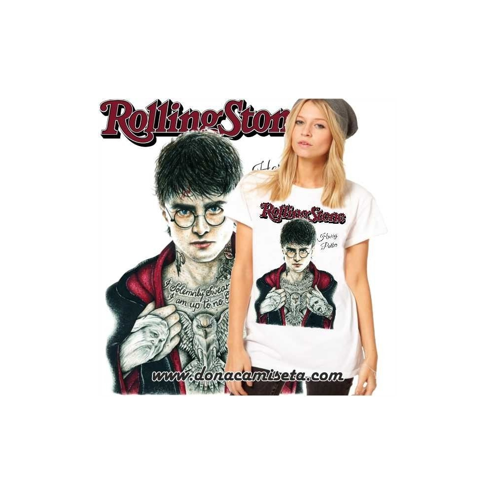Camiseta Harry tatoo Rolling Stone