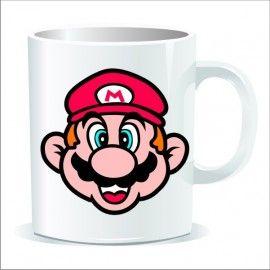 Taza Cara Super Mario