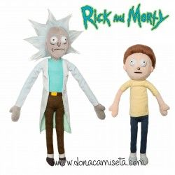 Peluche Rick and Morty (pack 2)
