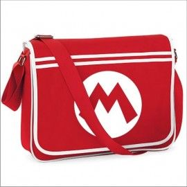 Bandolera Super Mario Logo M