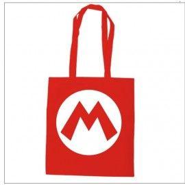 Bolsa algodón Super Mario Logo M