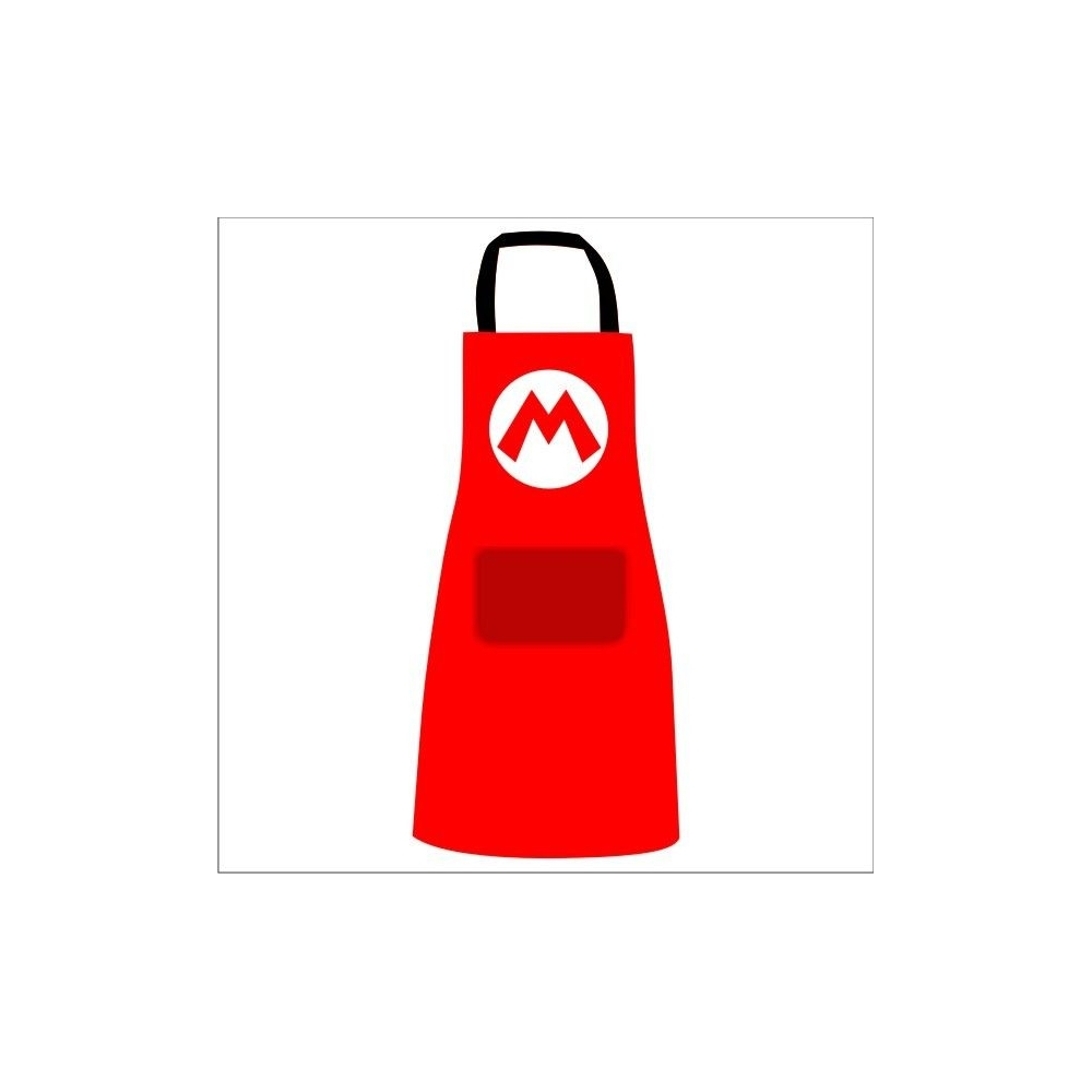 Delantal Super Mario Logo M
