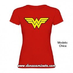 Camiseta Wonderwoman