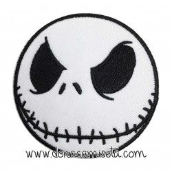 Parche Bordado cara Jack Skellington