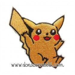 Parche Bordado pokemon Pikachu