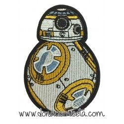 Parche Bordado BB8 Star Wars