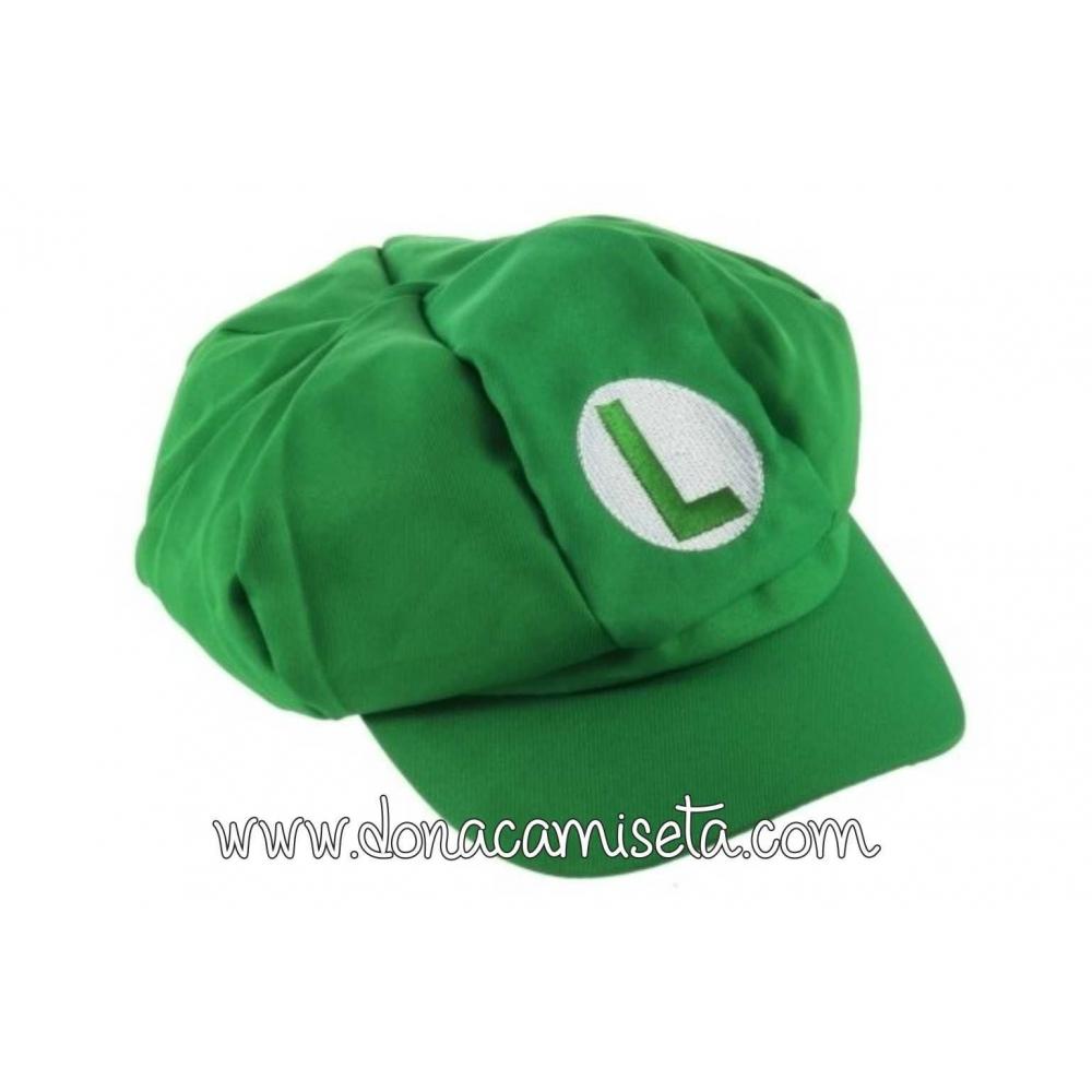 Gorra Super Mario y Luigi
