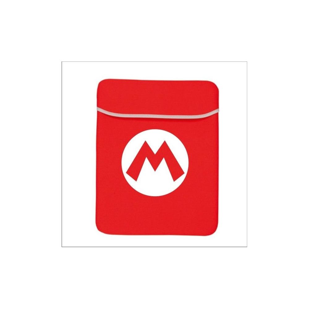 Funda Ordenador tapa Super Mario Logo M