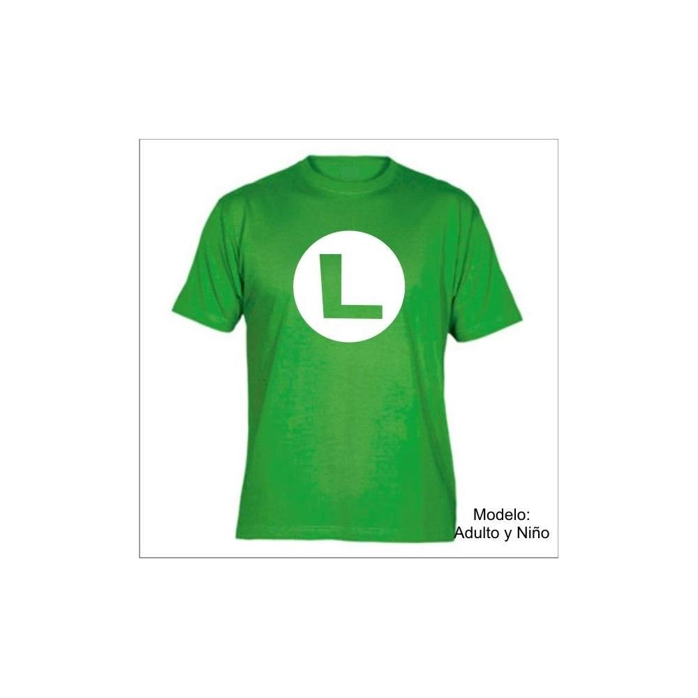 Camiseta MC Super Mario Logo L