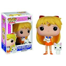 Figura Funko Pop Sailor Venus & Artemis