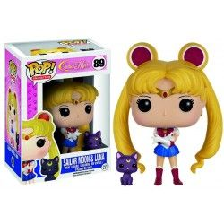 Figura Funko Pop Sailor Moon & Luna 89