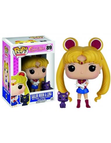 Figura Funko Pop Sailor Moon & Luna