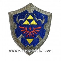 Parche Bordado Escudo Hyliano Zelda