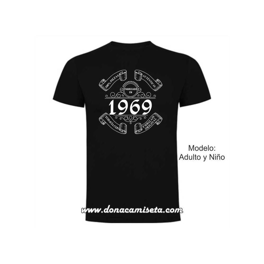 Camiseta Fabricado en (Personalizable)