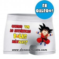 Boxer Goku Bolas Máxicas (Galego)