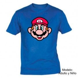 Camiseta MC Cara Super Mario