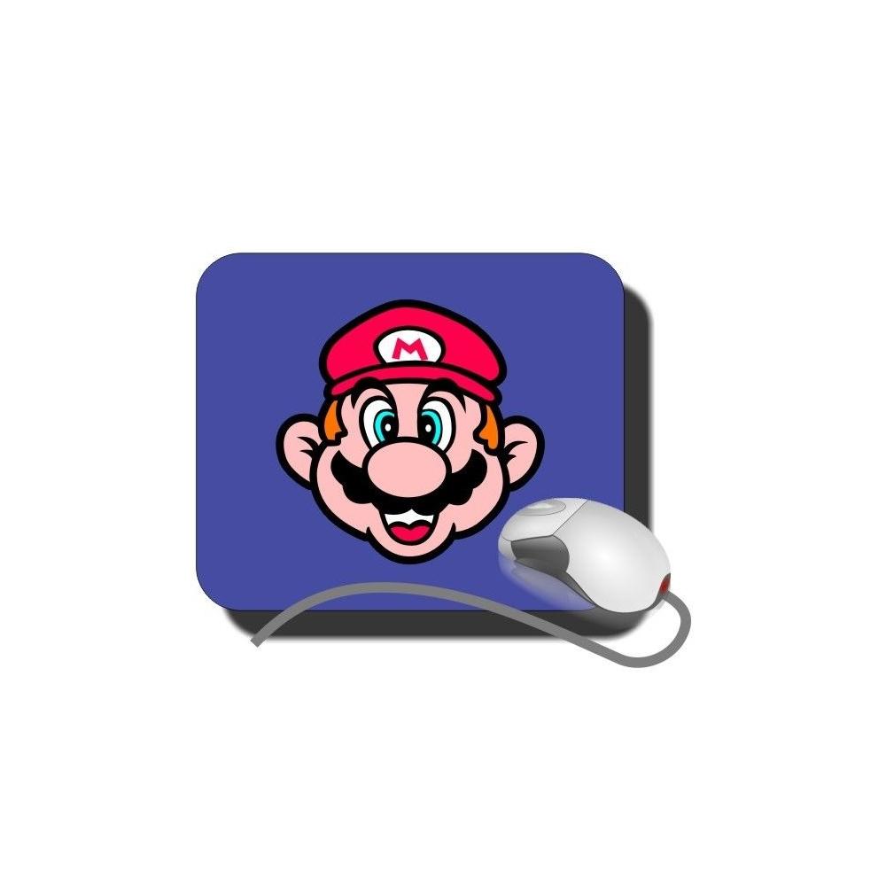 Alfombrilla Ratón Cara Super Mario