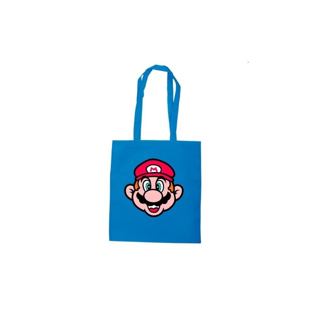 Bolsa algodón Cara Super Mario