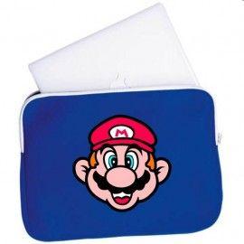 Funda Ordenador Cara Super Mario