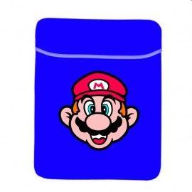 Funda Ordenador tapa Cara Super Mario