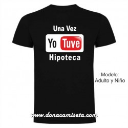 Camiseta MC Yo Tube Hipoteca