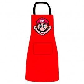 Delantal Cara Super Mario