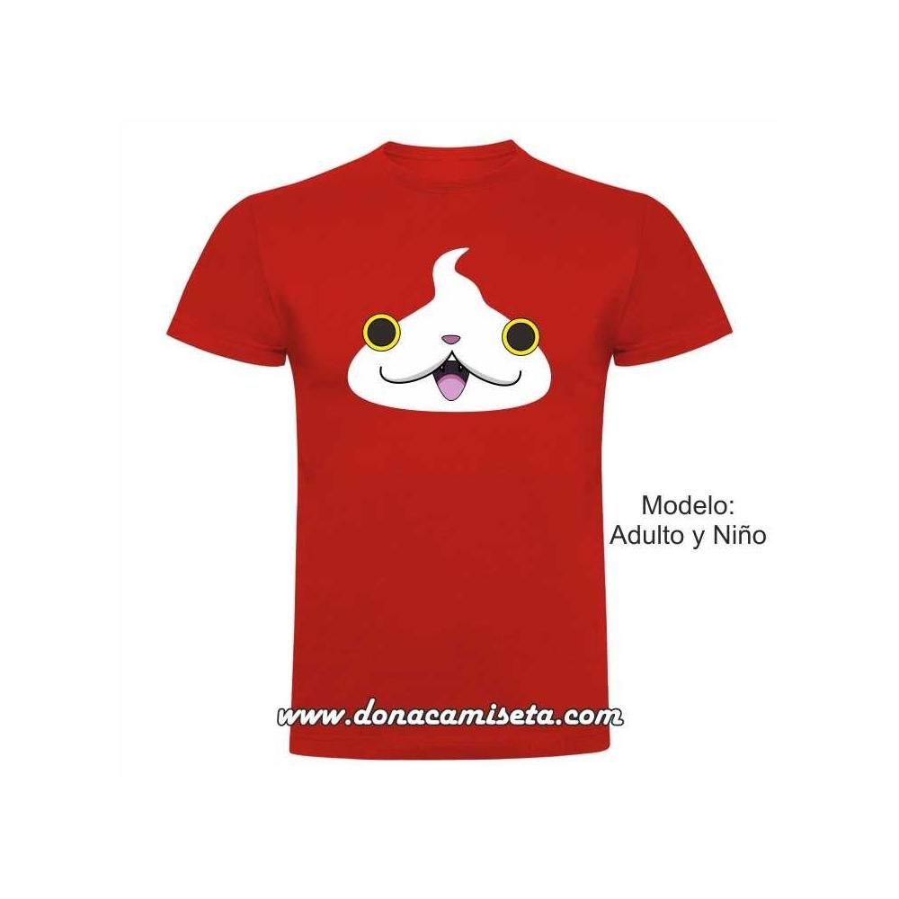 Camiseta Cara gato Jibanyan Yo-kai