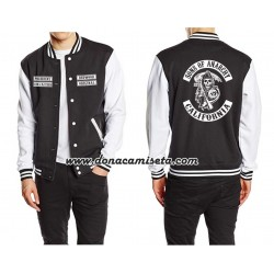 Chaqueta beisbolera Sons of Anarchy