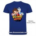 Camiseta Yo-kai grupo