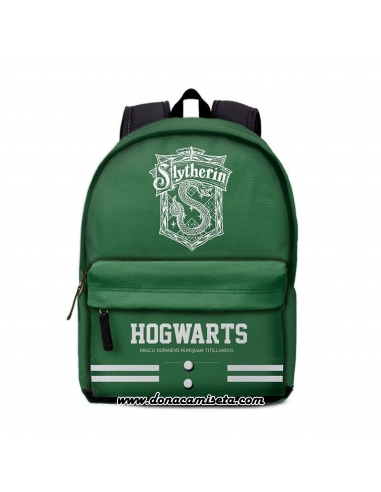 Mochila Harry Potter Slytherin 42cm adaptable