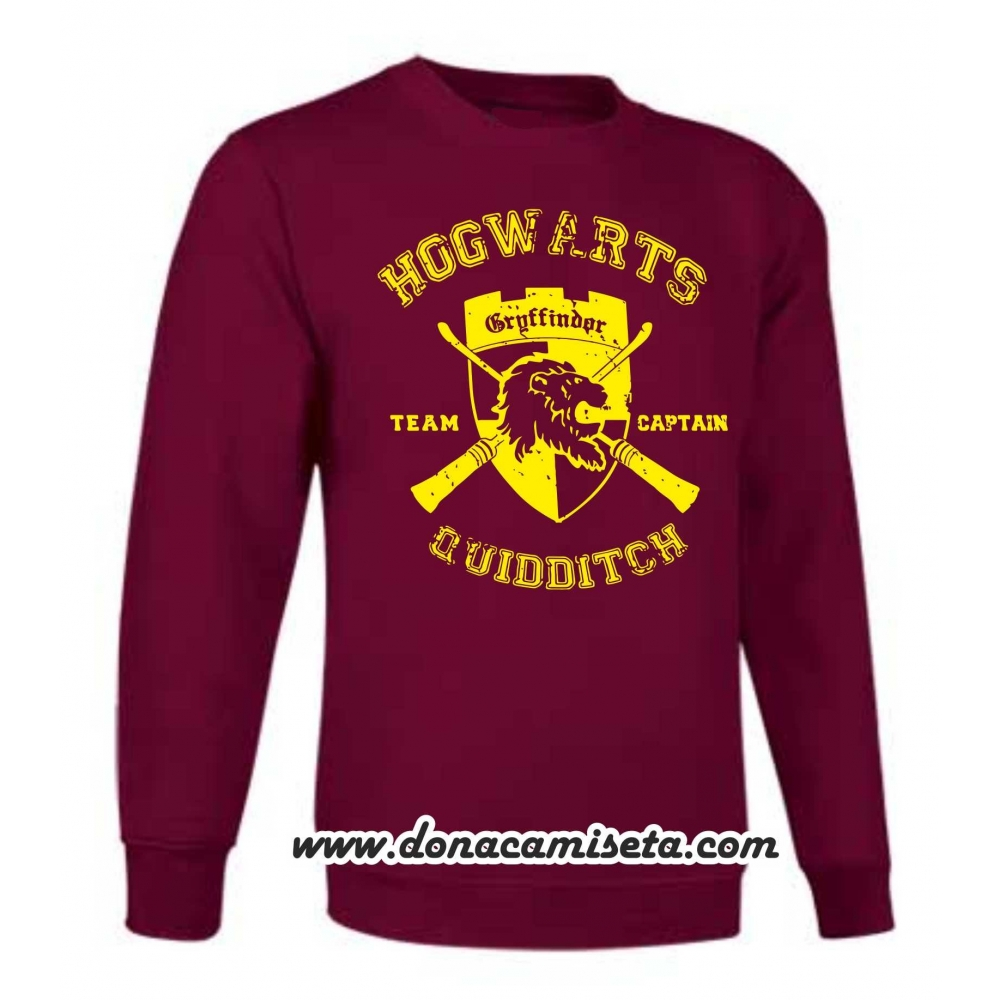 Sudadera Gryffindor Quidditch Team Captain (Harry Potter)