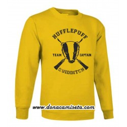 Sudadera hufflepuff Quidditch Team Captain (Harry Potter)